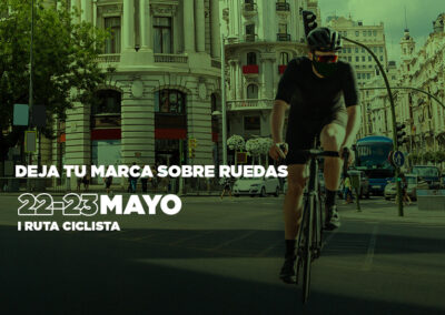 I Ruta ciclista contra el cáncer