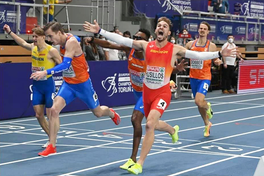 El atleta Óscar Husillos, ejemplo de resiliencia deportiva, embajador de la VIII Carrera En Marcha Contra el Cáncer