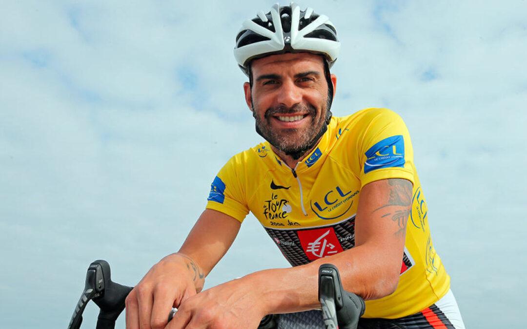 Óscar Pereiro, un ganador del Tour que lidera la I Ruta Ciclista contra el Cáncer