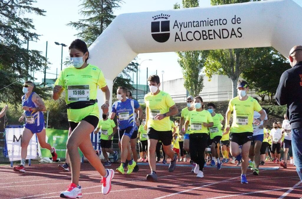 Alcobendas, Aranjuez, Móstoles, Pinto y Tres Cantos dejan su marca contra el cáncer tras la pandemia