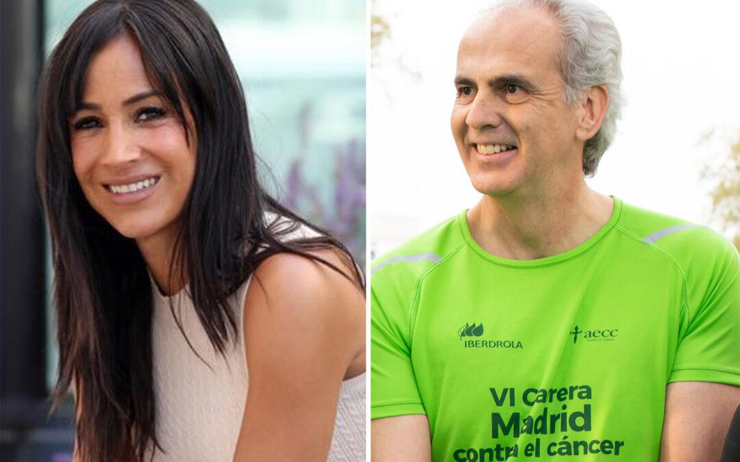 Enrique Ruiz y Begoña Villacís anuncian su presencia en la VIII Carrera Madrid Contra el Cáncer